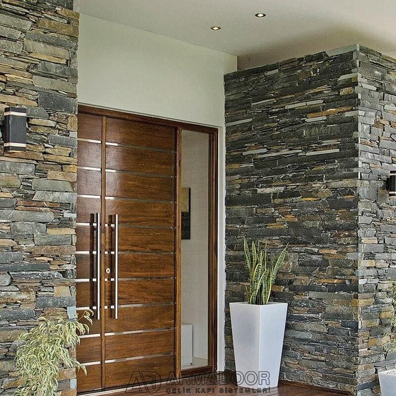 Kemer Villa Kapısı| Villa KapısıVilla Kapısı ModelleriPivot Kapı Sistemleri