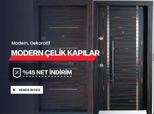 Modern Çelik Kapı