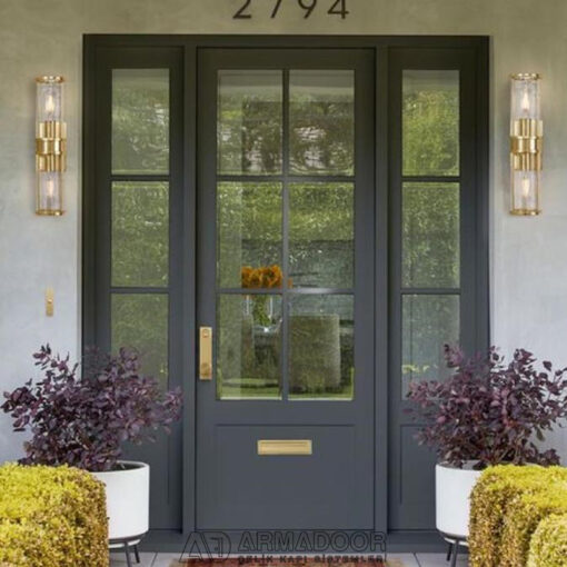 Villa Kapısı Resimleri| Villa KapısıVilla Kapısı ModelleriPivot Kapı Sistemleri
