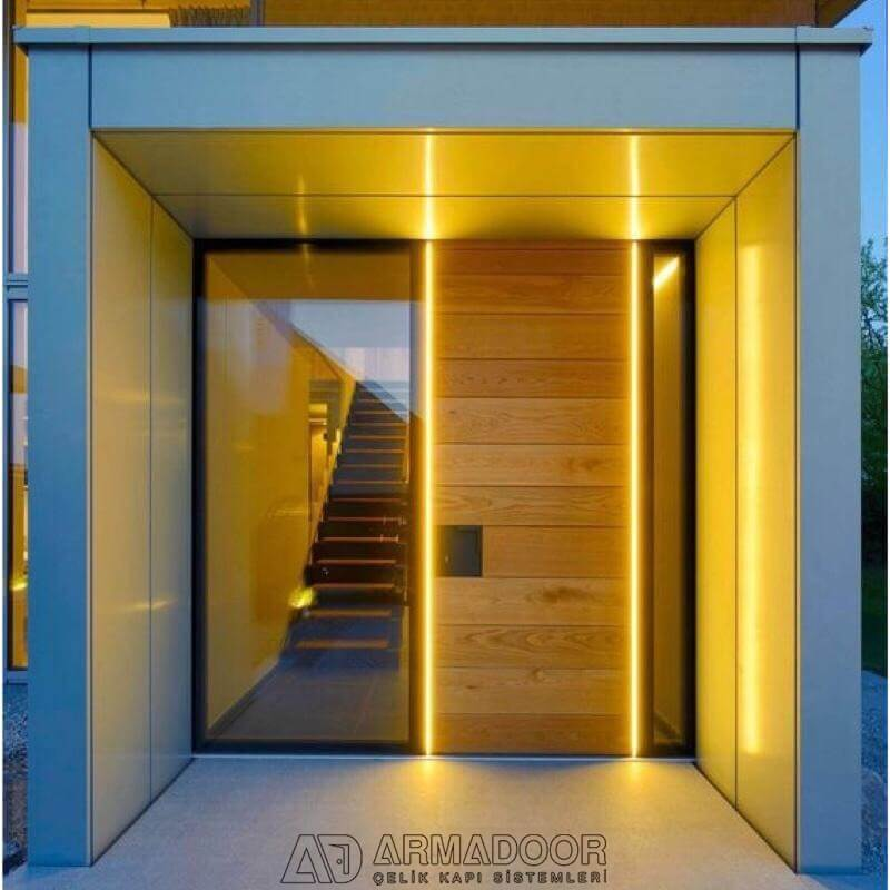 villa ana giriş kapısı| Villa KapısıVilla Kapısı ModelleriPivot Kapı Sistemleri